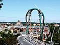 Bydgoszcz - Trasa Uniwersytecka w Budowie. Dnia 8 Września 2013 udostępniono zwiedzenie budowy - panoramio.jpg