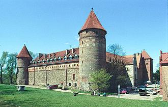 Bytów - Castle of the Teutonic Order, built 1399–1405.