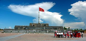 Imperial City, Huế - Flag Tower of the citadel