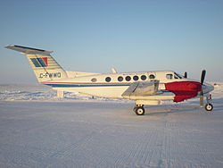 Beech 200 (C-FWWQ) а/к West Wind Aviation