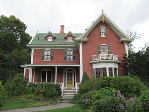 National Register of Historic Places listings in Taunton, Massachusetts - Image: C.J.H. Bassett House, Taunton MA