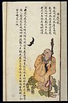 C19 Chinese MS moxibustion point chart; Neiting Wellcome L0039489.jpg