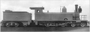 1884 in South Africa - CGR 4th Class 4-6-0TT