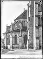 CH-NB - Lausanne, Cathédrale protestante Notre-Dame, vue partielle extérieure - Collection Max van Berchem - EAD-7284.tif