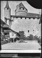 CH-NB - Lucens, château, vue partielle extérieure - Collection Max van Berchem - EAD-7350.tif