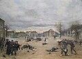 CHALON Eugène, Attaque de Dole par les Prussiens, 21 janvier 1871, 1889.jpg