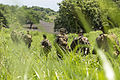 CLC-36 practices land navigation skills at Camp Fuji during Exercise Dragon Fire 2014 140715-M-EP064-183.jpg