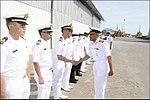 CO of INS Satpura interacting with Royal Brunei Naval personnel.jpg