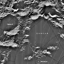 Cabeus (crater) - Wiki...