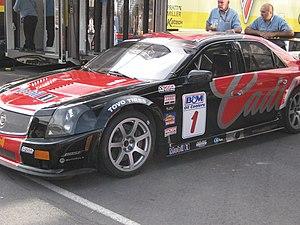 Pratt & Miller - A Cadillac CTS-V.
