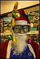Cairns underwater Santa Claus-1 (15824210209).jpg