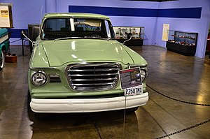 California Automobile Museum - 1960 Studebacker Champ in California Automobile Museum