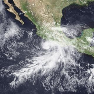 Hurricane Calvin (1993) Category 2 Pacific hurricane in 1993