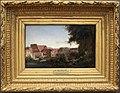 Camille corot, il colosseo visto dai giardini farnese, 1826, poi 1849.jpg