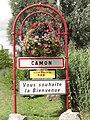 Camon (Somme) panneau d'entrée.jpg