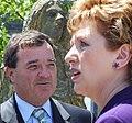 Canadian Finance Minister Jim Flaherty and Irish President Mary McAleese.jpg