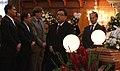 Canciller Patiño asiste junto a Presidente Correa a honras fúnebres del Embajador Francisco Suéscum (5395437995).jpg