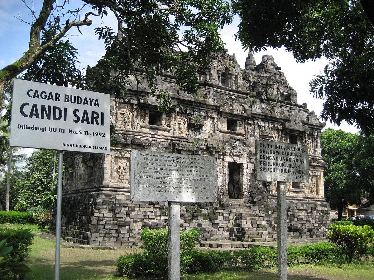 Candi Sari - Wikipedia bahasa Indonesia, ensiklopedia bebas
