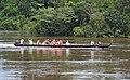 Canoe (korjaal) on Fungu Island jungle (2719255807).jpg