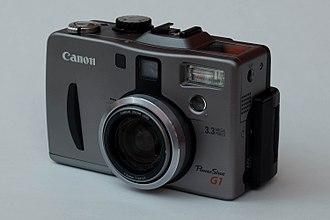 Canon PowerShot G - Image: Canon G1 Power Shot