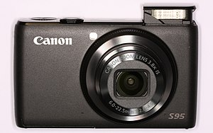 Canon PowerShot S95 - Front