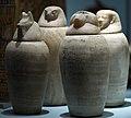 Canopic jars of Horwedja (rmo leiden, 26d 664-525bc) (3990719209).jpg