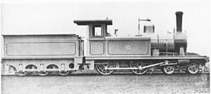 1881 in South Africa - CGR 1st Class 4-4-0TT