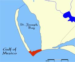 St Joe Florida Map.Cape San Blas Wikipedia