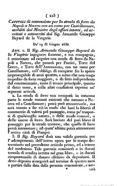 File:Capitoli di concessione per la strada di ferro da Napoli a Nocera.djvu