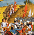 Capture of Tiflis by Agha Muhammad Shah. A Qajar-era miniature. 09.png