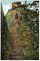 Carisbrooke Castle, steps to the keep, c1910 - Project Gutenberg eText 17296.jpg