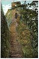 Carisbrooke Castle, steps to the keep, c1910 - Project Gutenberg eText 17296.jpg