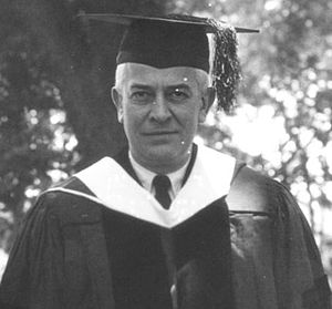 Carl Clinton Van Doren - Van Doren as the commencement speaker for the University of Kentucky in 1929