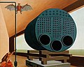 Carl Grossberg Traumbild Dampfkessel mit Fledermaus 1928.jpg