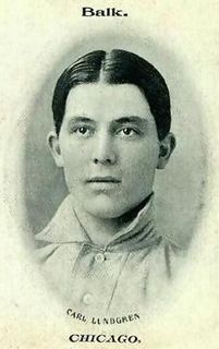 Carl Lundgren American baseball player and coach