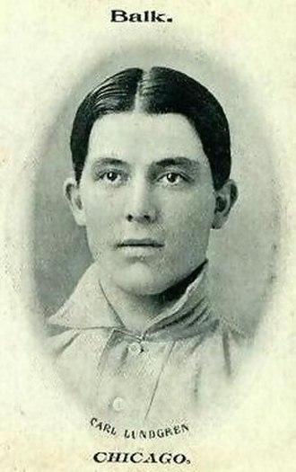 Carl Lundgren - Image: Carl Lundgren (1906 baseball card)