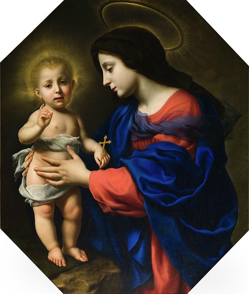 Карло Дольчи - Мадонна с младенцем - 78.21 - Детройтский институт искусств.jpg
