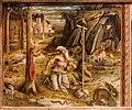 Carlo crivelli, madonna della rondine, post 1490, da s. francesco a matelica, predella 02 girolamo nel deserto.jpg
