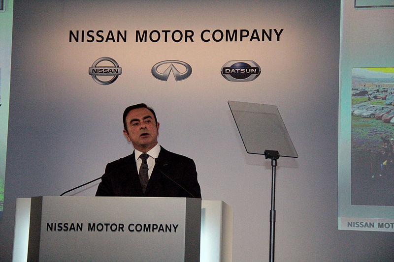 Carlos Ghosn at the 2013 earnings press conference Yokohama.jpg