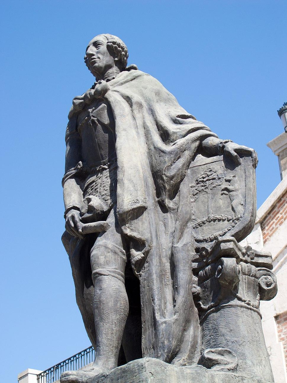 Carlos III - Jardines de Sabatini - Madrid