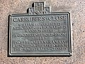 Carruber's Close plaque, High Street - geograph.org.uk - 1529899.jpg