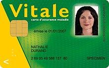 numero de serie carte vitale Carte Vitale 2 — Wikipédia
