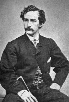 Carte De Visite Of John Wilkes Booth Around 1863 By Alexander Gardner