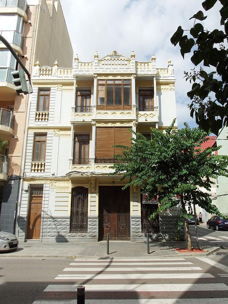 File casa en l 39 avinguda pare carlos ferris 28 albal wikimedia commons - Casas en albal ...