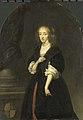 Caspar Netscher - Jacoba Bicker (1640-95), echtgenote van Pieter de Graeff - 1464 - Amsterdam Museum.jpg