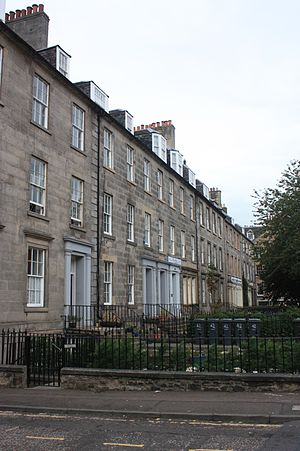 James Grant (minister) - Cassels Place, Leith (now part of Leith Walk)