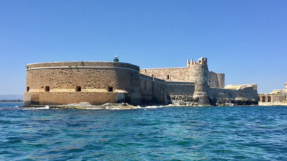 Castello Maniace from the sea