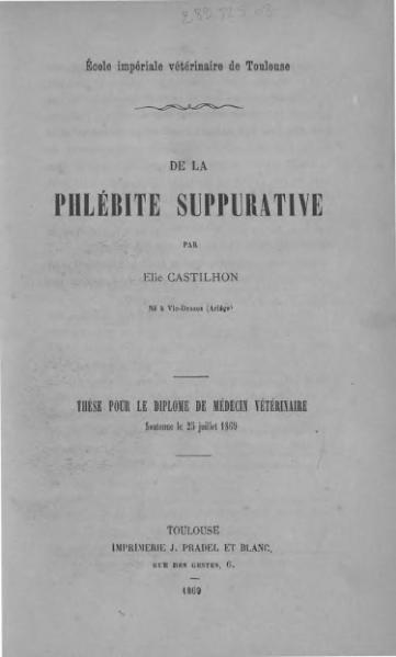 File:Castilhon - De la phlébite suppurative.djvu