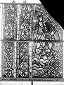 Cathédrale - Vitrail, déambulatoire au nord, saint Julien l'Hospitalier, deuxième panneau, en haut - Rouen - Médiathèque de l'architecture et du patrimoine - APMH00031348.jpg