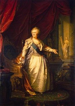 Bekend Catharina II van Rusland - Wikipedia &UF44